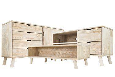 Muebles de salón escandinavos
