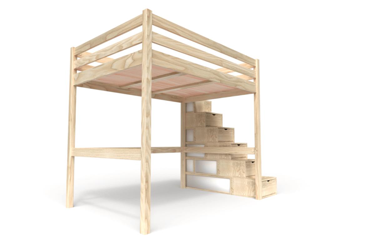 hochbett 140x200 für erwachsene mit treppe