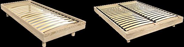 Lattenrost aus Holz