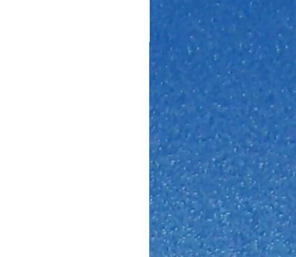 Blanc/Bleu foncé