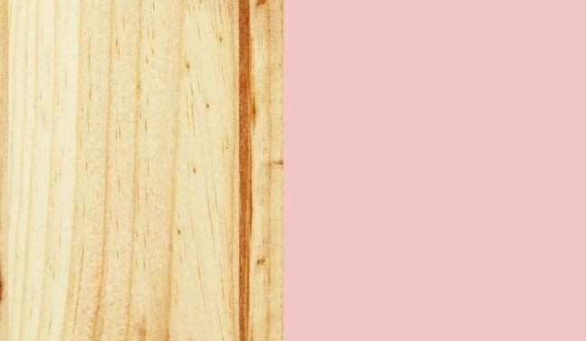 Vernice naturale / rosa
