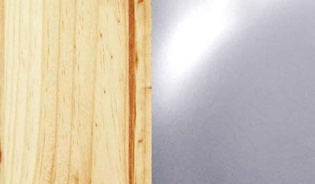 Vernice naturale / Grigio alluminio