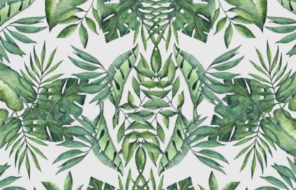 Naturlack/Dekor Pflanzen